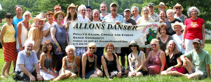 Allons Danser at Jambalaya Fest, July 2013